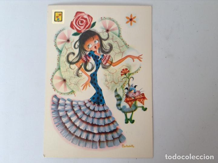 POSTAL AÑOS 79 CASTAÑER (Postales - Dibujos y Caricaturas)