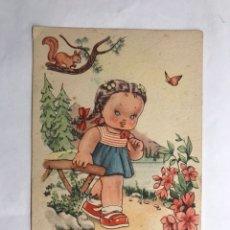 Postales: POSTAL ILUSTRA BOMBÓN. DIBUJOS Y CARICATURAS EDITA: ESTAMPERÍA RAM SERIE 5 (A.1952). Lote 132791901