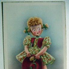 Postales: POSTAL EDICIONES C Y Z - SERIE 513 AÑO 1950. Lote 132816602