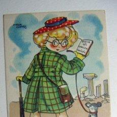 Postales: POSTAL COLECCION DE POSTALES MARI PEPA ILUSTRADA MARIA CLARET SERIE U Nº 3. Lote 132821910