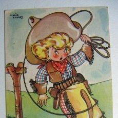 Postales: POSTAL COLECCION DE POSTALES MARI PEPA ILUSTRADA MARIA CLARET SERIE XX Nº 9. Lote 132822590