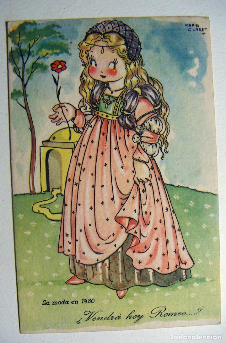 POSTAL COLECCION DE POSTALES MARI PEPA ILUSTRADA MARIA CLARET SERIE Z Nº 1 (Postales - Dibujos y Caricaturas)