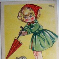 Postales: POSTAL COLECCION DE POSTALES MARI PEPA ILUSTRADA MARIA CLARET SERIE X Nº 10. Lote 132824378