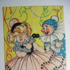 Postales: POSTAL COLECCION DE POSTALES MARI PEPA ILUSTRADA MARIA CLARET SERIE V Nº 8 AÑO 1948. Lote 132829026