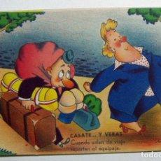 Postales: POSTAL CASATE Y VERAS ILUSTRA MUNTAÑOLA ESTAMPERIA RAM. SERIE 5 AÑO 1945. Lote 132830658