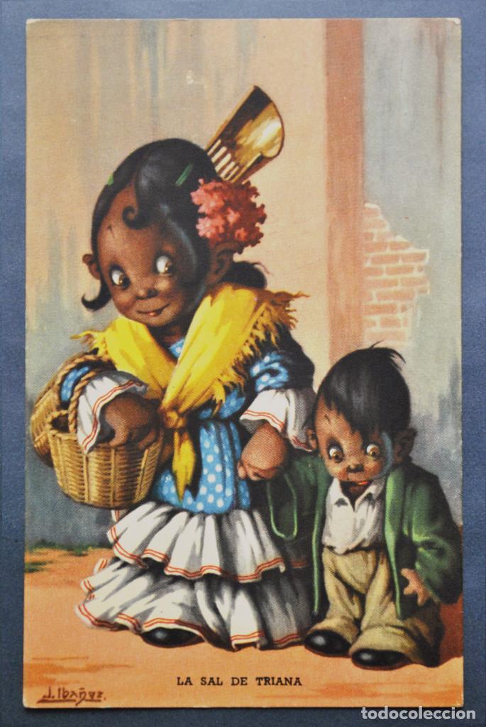 POSTAL IBÁÑEZ Nº 2 - ED BARSAL 1940 (Postales - Dibujos y Caricaturas)