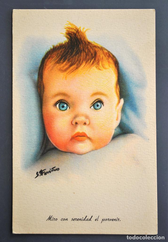 POSTAL S. FARIÑAS - SERIE 1 - AÑOS 40/50 NUEVA (Postales - Dibujos y Caricaturas)