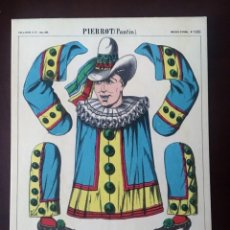Postales: ANTIGUA (1967) POSTAL FRANCESA PIERROT (PANTIN). EDITADA POR PELLERIN &Cº- IMAGERIE D EPINAL 1341. Lote 135803962