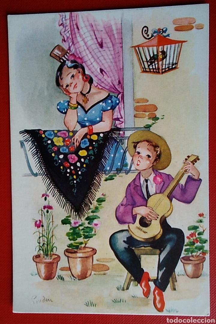 POSTAL PAREJA ILUSTRA PRUDEN (Postales - Dibujos y Caricaturas)