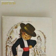 Postales: POSTAL DE NIÑOS. # 26. ANDALUZ. CARICATURA DE ISABEL. BORDADA. CIRCULADA.. Lote 136206670