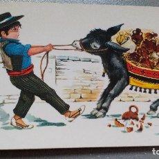 Postales: POSTAL - ESPAÑA - DIBUJO - BOTIJERO - AÑOS 70/80. Lote 136239466
