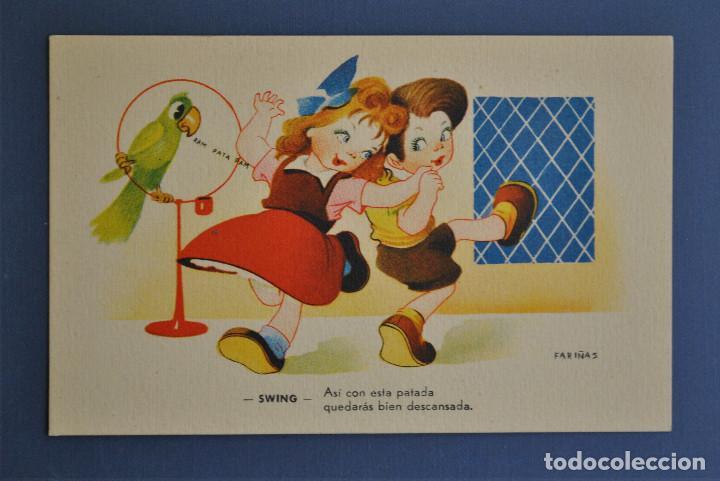 POSTAL FARIÑAS SERIE Nº 7 (Postales - Dibujos y Caricaturas)