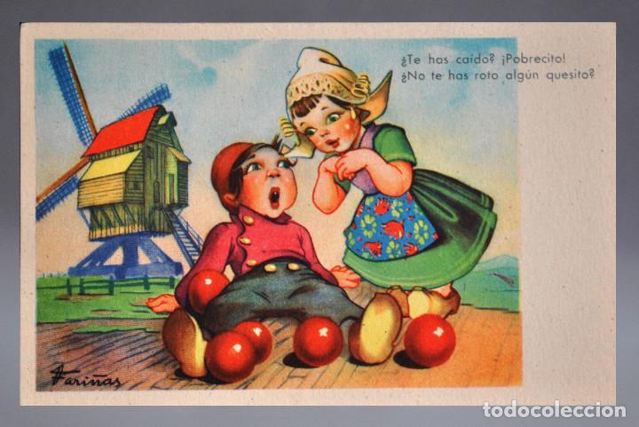 POSTAL FARIÑAS SERIE Nº 2 NC (Postales - Dibujos y Caricaturas)