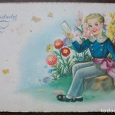 Postales: TARJETA POSTAL FABRICATION SIRENITA - SERIE 1076. Lote 136369386