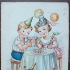 Postales: TARJETA POSTAL FABRICATION IKON FIRMADO EL 11 DE SEPTIEMBRE 1948 ILUSTRADO POR GIRONA. Lote 136370342