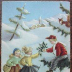 Postales: ANTIGUA POSTAL EDICIONES ANCLA - SERIE 2008 ESCRITA 1954. Lote 136463394