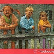Cartes Postales: BONITA POSTAL PIPPI TOMMY Y ANNIKA EDICIÓN TARJE FHER VER FOTO ADICIONAL. Lote 136553154