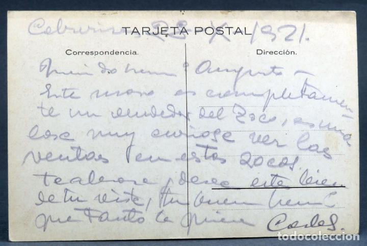 Postales: Postal Marruecos Vendedor de gallinas caricatura Mullor escrita 1921 - Foto 2 - 252927725