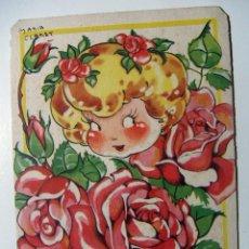 Postales: POSTAL MARIA CLARET - SERIE G FLORES Nº 3 DE MARI PEPA. Lote 137187194