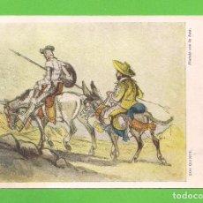 Cartes Postales: POSTAL - DON QUIJOTE - PINTADO CON LA BOCA. - EDITORIAL ARTIS-MUTI - Nº 2105 - DE 1959.. Lote 137812454