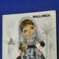 Postales: POSTAL MALLORCA. NIÑA TRAJE TÍPICOS. CIRCULADA. MATASELLO. SELLO JUAN CARLOS I. Lote 137869374