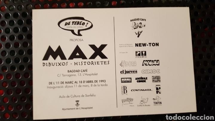 Postales: Max - Postal promocional de un exposición -Genocide in Bosnia We are the dead Del creador de Gustavo - Foto 2 - 139284494