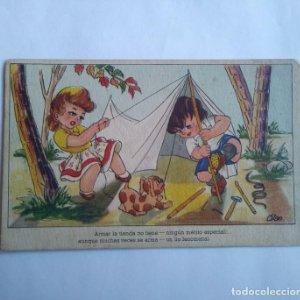 Dibujo infantil OLAN Delicias del veraneo serie 131