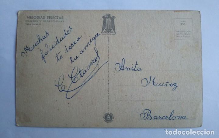Postales: MELODÍAS SELECTAS GIRONA SERIE 153 TOCANDO EL PIANO CALLA CORAZÓN TEN COMPASIÓN DE MÍ - Foto 2 - 139443690