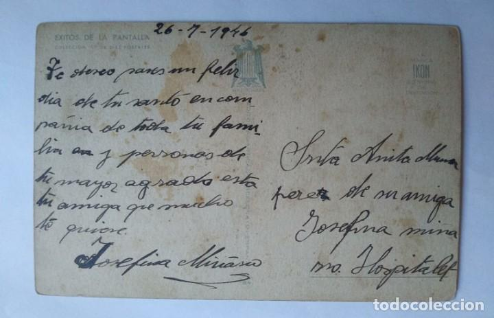 Postales: UN HOMBRE INVEROSÍMIL BOMBÓN ÉXITOS DE LA PANTALLA 1946 - Foto 2 - 139444278