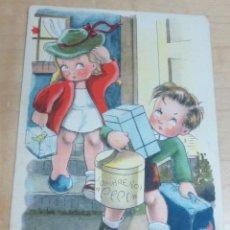 Postales: POSTAL INFANTIL ILUSTRADA POR BOMBÓN EDITORIAL ARTIGAS COLECCIÓN C ÉXITOS DE LA PANTALLA AÑO 1946. Lote 142587382