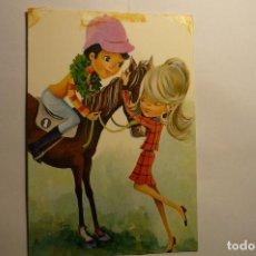 Postales: POSTAL CABALLISTA.-DIBUJO BENI--ESCRITA. Lote 143547410