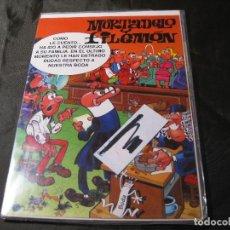 Postales: POSTAL MORTADELO Y FILEMÓN TAMAÑO CUARTILLA 1994 EXCEDENTE DE PAPELERÍA Y EN SU FUNDA. Lote 143733978