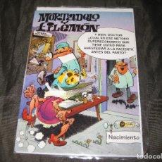 Postales: POSTAL MORTADELO Y FILEMÓN TAMAÑO CUARTILLA 1994 EXCEDENTE DE PAPELERÍA Y EN SU FUNDA. Lote 143734574