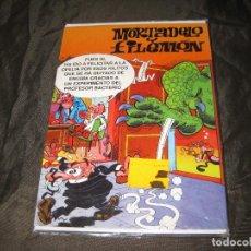 Postales: POSTAL MORTADELO Y FILEMÓN TAMAÑO CUARTILLA 1994 EXCEDENTE DE PAPELERÍA Y EN SU FUNDA. Lote 143735058