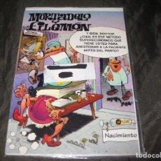 Postales: POSTAL MORTADELO Y FILEMÓN TAMAÑO CUARTILLA 1994 EXCEDENTE DE PAPELERÍA Y EN SU FUNDA. Lote 143735782