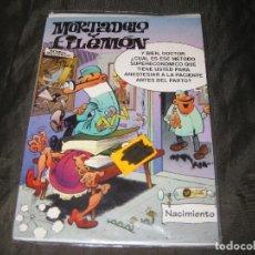 Postales: POSTAL MORTADELO Y FILEMÓN TAMAÑO CUARTILLA 1994 EXCEDENTE DE PAPELERÍA Y EN SU FUNDA. Lote 143736246