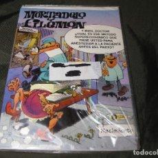 Postales: POSTAL MORTADELO Y FILEMÓN TAMAÑO CUARTILLA 1994 EXCEDENTE DE PAPELERÍA Y EN SU FUNDA. Lote 143736426
