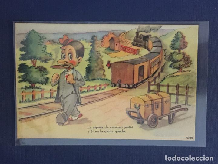 POSTAL ILUSTRADA POR CELMA. ESTAMPERIA RAM. SERIE 23. (Postales - Dibujos y Caricaturas)