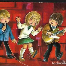 Postales: POSTAL CONSTANZA * GRUPO MUSICAL * 1967 - SERIE 6696. Lote 145123142