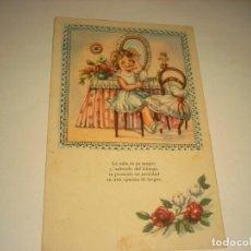 Postales: POSTAL ETAPAS DE LA VIDA. SERIE 3013.. Lote 145254634