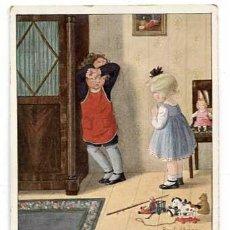 Postales: POSTAL ILUSTRADA PAULI EBNER ( NIÑOS ) 1975. SIN CIRCULAR. Lote 146019658