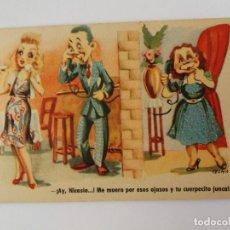 Postales: ANTIGUA TARJETA POSTAL ILUSTRADA POR CELMA - SERIE 71 - ESTAMPERIA RAM. Lote 146884602