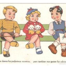 Postales: BOMBON. LAS DAMAS LOS PREFERIMOS.... SERIE 15. ED. ARTE. . VELL I BELL. Lote 147459594