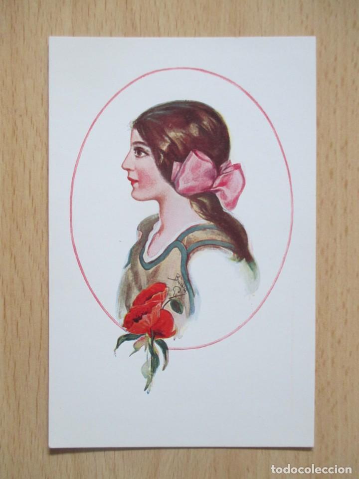 Postales: Lote de 7 tarjetas postales antiguas ilustradas por Badía - Foto 3 - 147501034