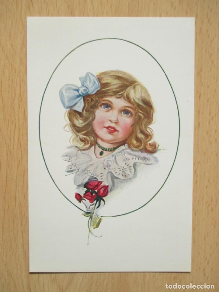 Postales: Lote de 7 tarjetas postales antiguas ilustradas por Badía - Foto 5 - 147501034