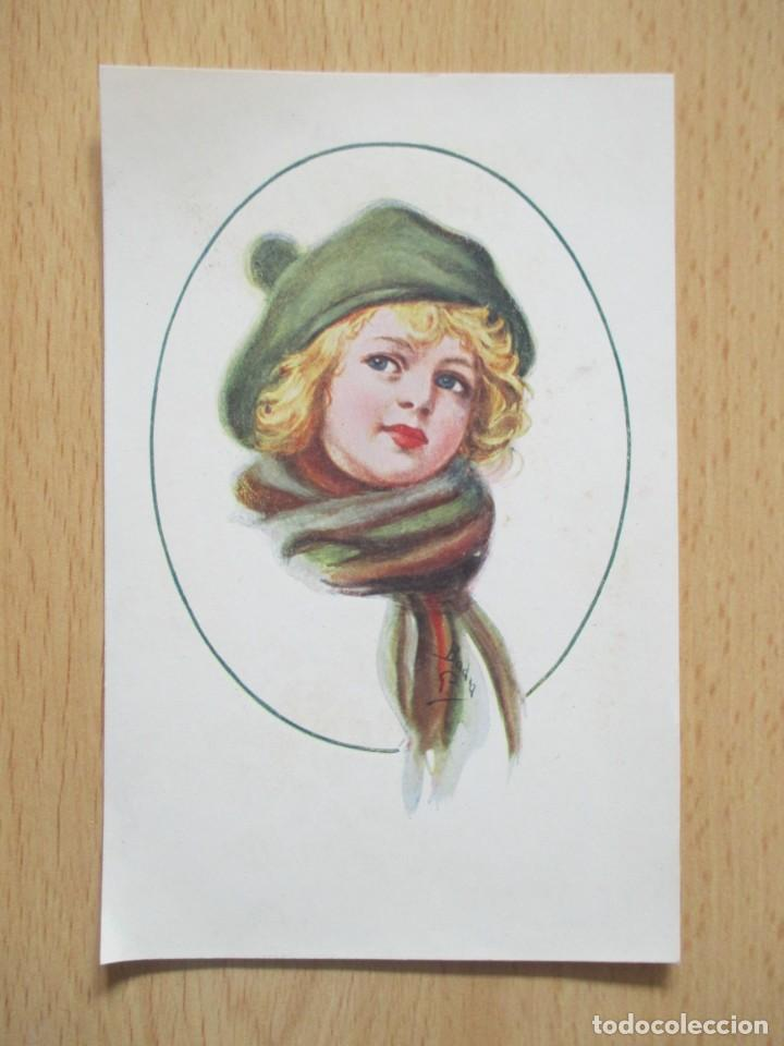 Postales: Lote de 7 tarjetas postales antiguas ilustradas por Badía - Foto 7 - 147501034