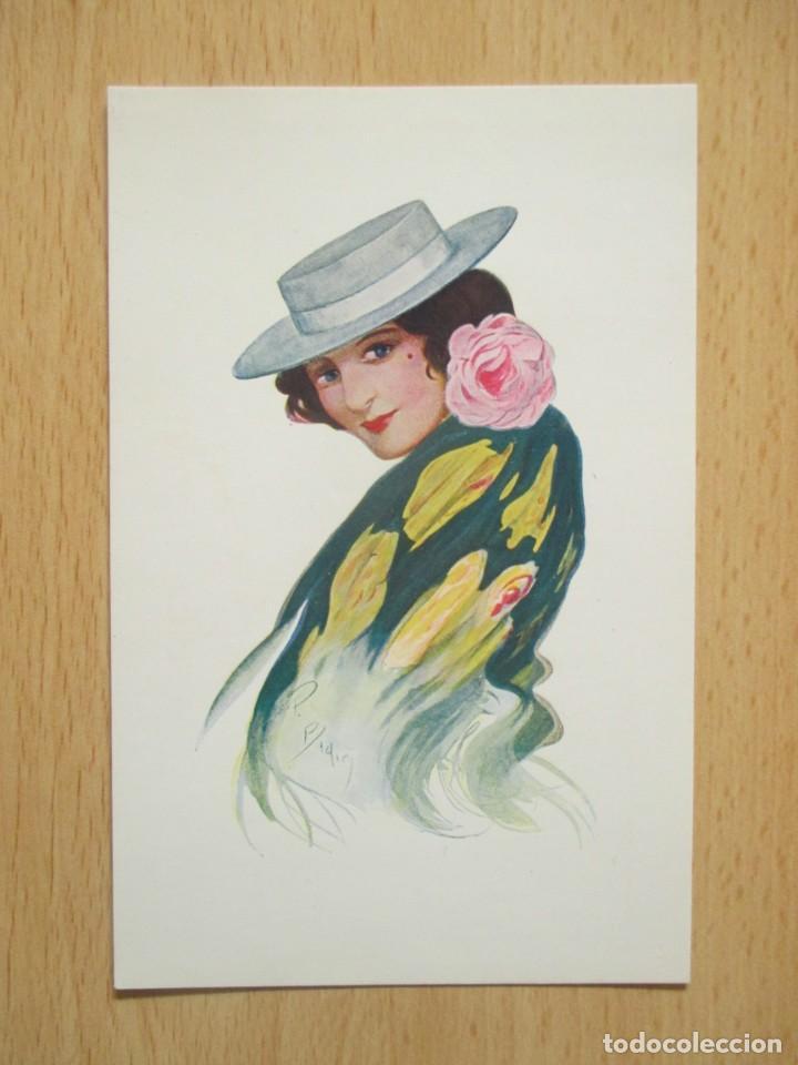 Postales: Lote de 7 tarjetas postales antiguas ilustradas por Badía - Foto 15 - 147501034