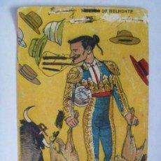 Postales: POSTAL CON CARICATURA DEL TORERO JUAN BELMONTE. AÑOS 40.. Lote 147573838