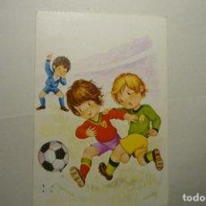 Postales: POSTAL FUTBOL -DIBUJO ALONSO CIRCULADA. Lote 148443790