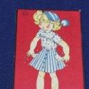 Postales: POSTAL NIÑA MARIA CLARET MARI PEPA FINES DE MES . Lote 150559258
